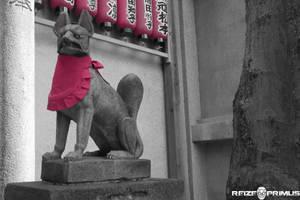 Inari Statuette by raveka