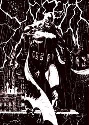 BaTman SKETCH#57 by ErolDebris