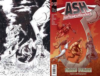 ASH #15 COVER#2 by ErolDebris