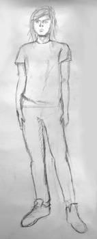 Figure of boy by jajafilm