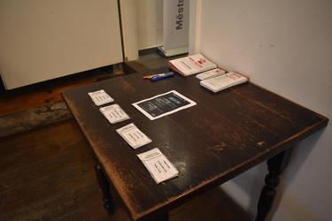 Table with program by jajafilm