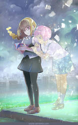 Maki and Ruru and the book they created by skimlines