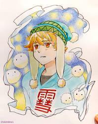 Yukine from Noragami by skimlines