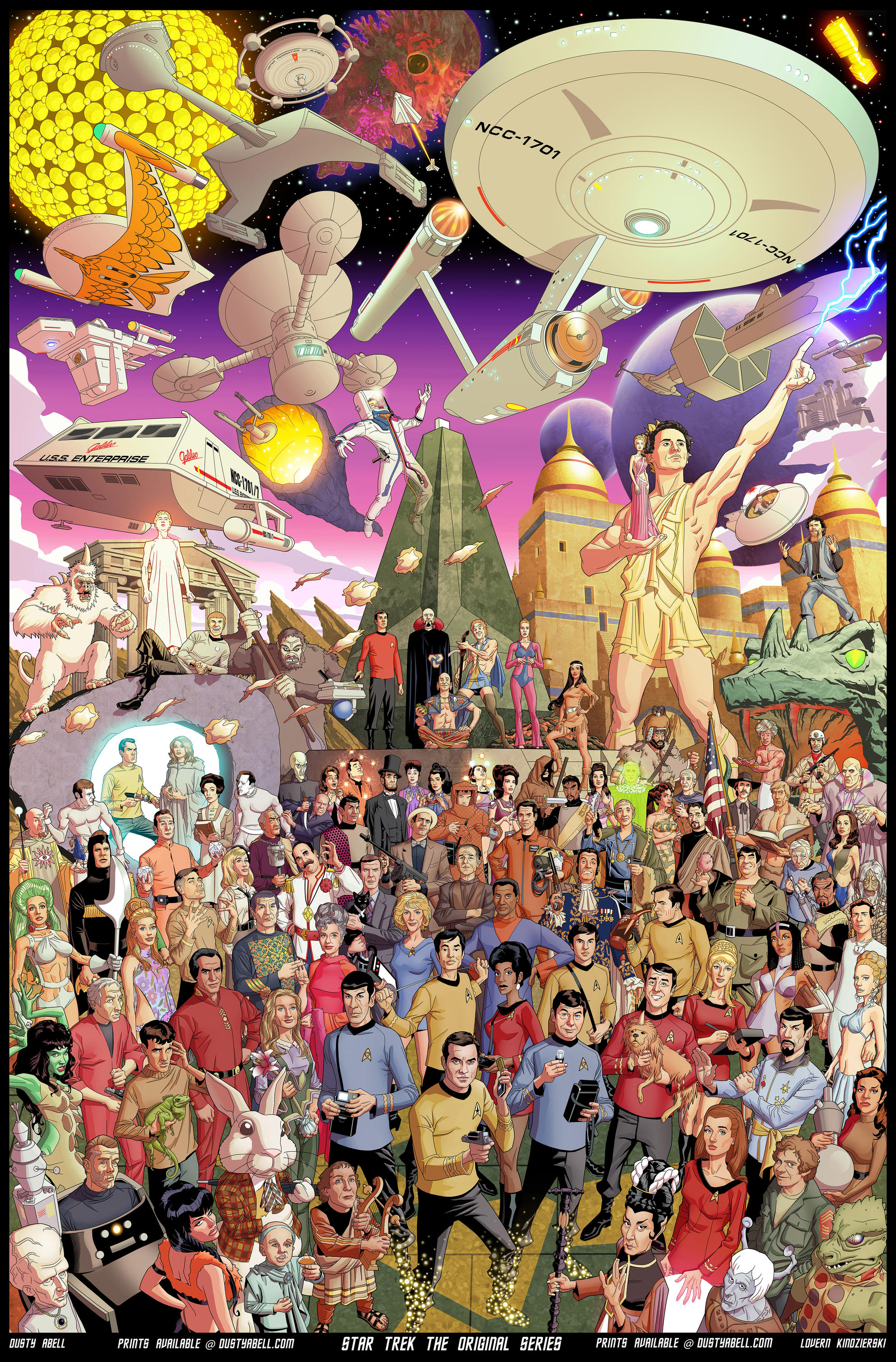 Star Trek The Original Series by dusty-abell