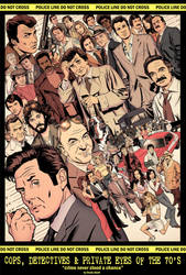 Cops Detectives and Private Eyes of the 70s by dusty-abell