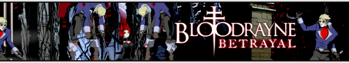 Bloodrayne Betrayal Banner by Uprisen257