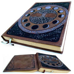 AxisMundi XL Grimoire by AnnEnchanted