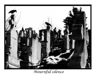Mournful silence v2 by grimsatyr