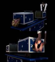 Magic Box Tickling by Threedimaxofmymind