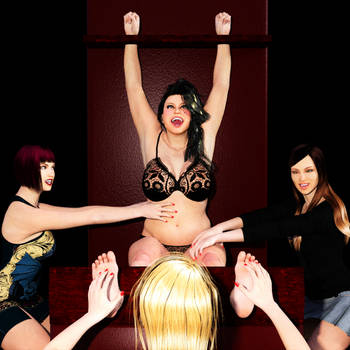 Victoria Gang Tickled by Threedimaxofmymind