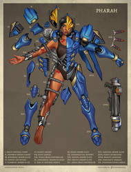 Pharah Deconstructed by Christopher-Stoll