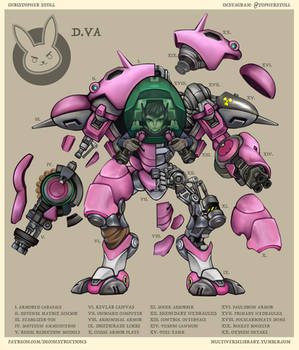 D.Va Deconstructed by Christopher-Stoll