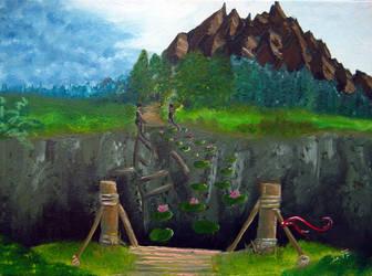 Magical bridge by Ivanitko
