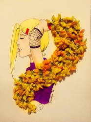 Floral Ino Yamanaka by Ivanitko