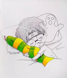 Inktober No. 7: Ghosts by Ivanitko