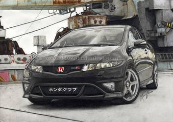 CTR black devil drawn by VeVe-350Z