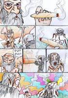 Skyrim - Giants by Mailus