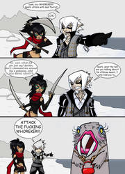Skyrim Collab with SpaceSkeleton by Mailus