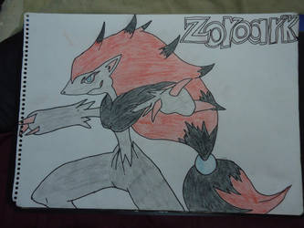 Zoroark by ArtLover324