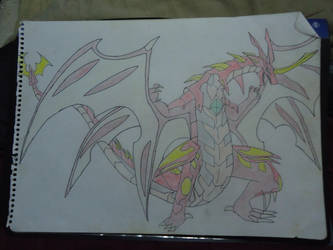 Pyrus Neo Dragonoid by ArtLover324