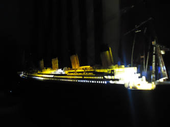My RMS Titanic that lights up! by ArtLover324