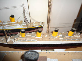 My RMS Olympic Model! by ArtLover324