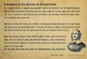 Ernestine Rose on Superstition... by rationalhub