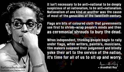Arundhati Roy on Nationalism.. by rationalhub