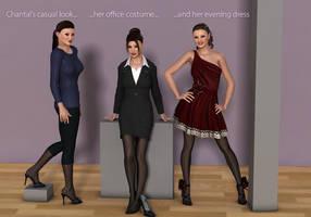 Chantal fashion by Rometheus
