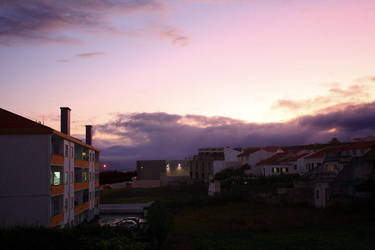 Sunset at Terceira by SolidSSnake