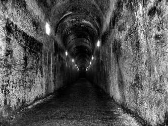 Darkness at the end of tunnel by SolidSSnake