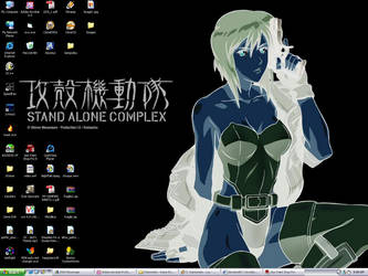 Current Desktop by SolidSSnake