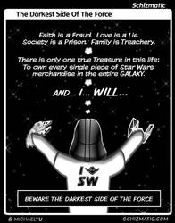 The Darkest Side Of The Force by schizmatic