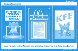 Corporate America by schizmatic