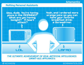 Nothing Personal Assistants by schizmatic