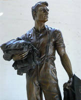 Edgar Towner VC, Bronze. 2009 by danndeemann