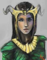 Diablo 2 sorceress by potato-pendulum