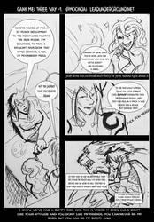 Gank Me Restart Comic: Threeway by jekylnhyde