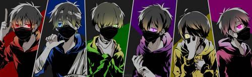 six faces by unkou