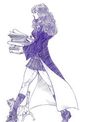 Hermione by janusmemory