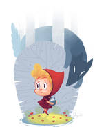 Little red riding hood by poxel