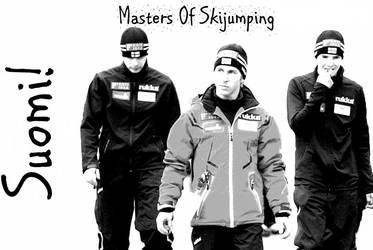 Finnland skijumping team 2 by MissDrakkainen