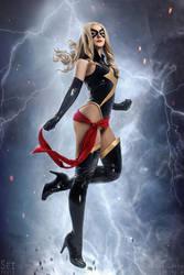 Miss Marvel by ZoeVolf