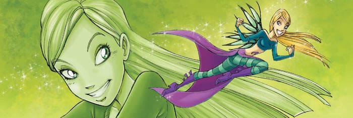 Witch Cornelia color Scuderi by Skudo
