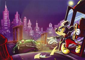 Mickey Flavia Scuderi by Skudo