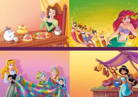 Disney_Princess_mix4_Scuderi by Skudo