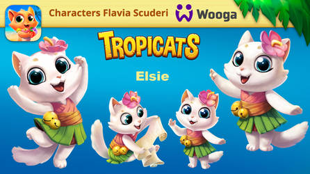Tropicats Elsie design by Skudo