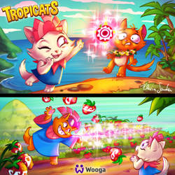 Tropicats Tournaments illu by Skudo