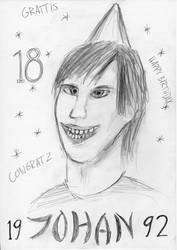Happy Birthday Johan by micke1989