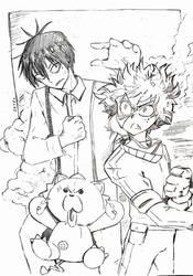 Anime random characters by JulieDraw2046